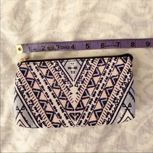 ⭐️ 3/$12 Kestrel Makeup Bag, Pouch, Clutch